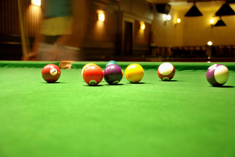 $20 Certificate Toward Billiards, Food & Drink at Diamond Eight Billiards