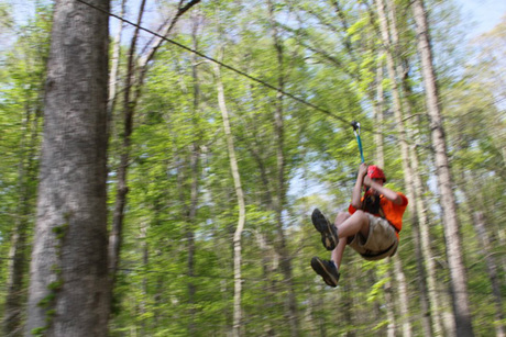 Zipline Adventure for Two at Lark Valley Ziplines