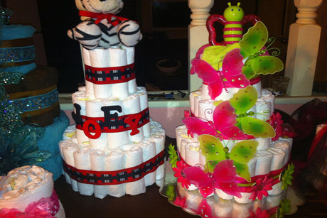 Diaper Cakes by Misse