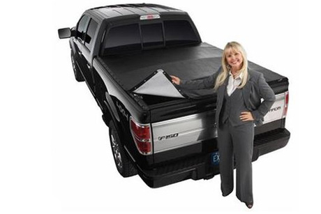 snap style tonneau cover from pro style auto truck. Black Bedroom Furniture Sets. Home Design Ideas