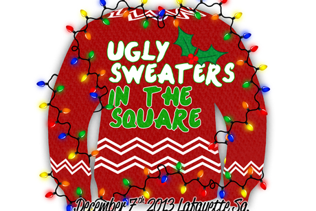 Ugly Sweaters in the Square
