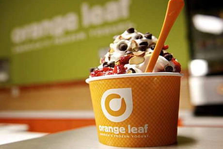 Orange Leaf Frozen Yogurt - Bloomington