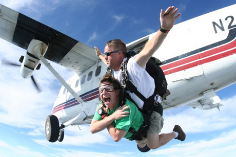 Full 'Learn to Fly' Sky Dive Package at Freefall Adventures