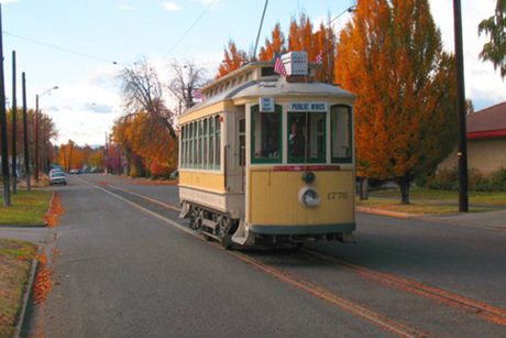 Yakima Valley Trolley Charter, Museum Tour & Powerhouse Rental