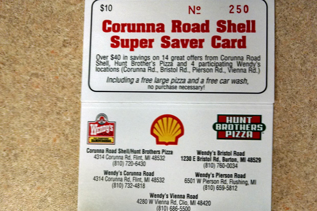 Corunna_road_shell_super_saver_card