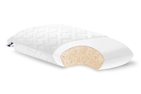 Talalay Shredded Latex Pillow From Fundamental Furniture