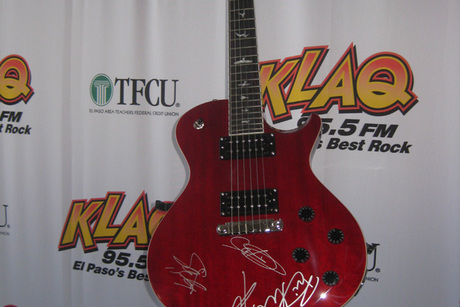 Red Paul Reed Smith Autographed by Mark Tremonti