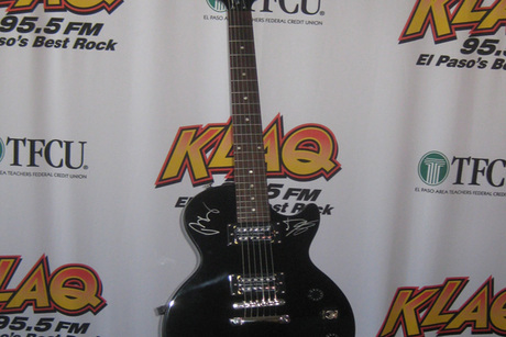 Black Epiphone Special II Model Autographed by The Black Keys