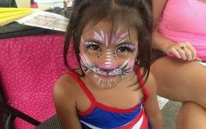 Glamour Girls Face Painting