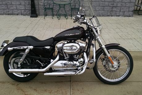 2005 XL1200C Sportster Custom From Dubuque Harley-Davidson