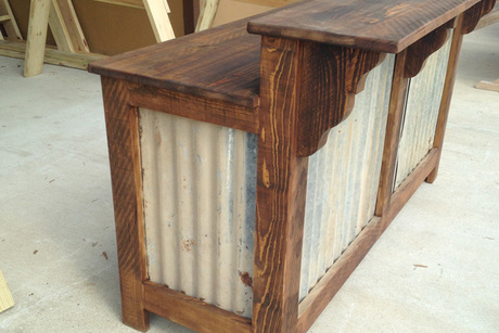 Outdoor cyprus bar from bare wood furniture center lafayette la auctions seize the deal - Garden furniture cyprus ...