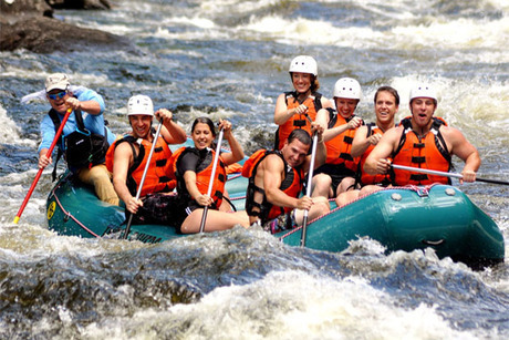 Kennebec or Penobscot Rafting Trip for Four With Two-Nights of Lodging