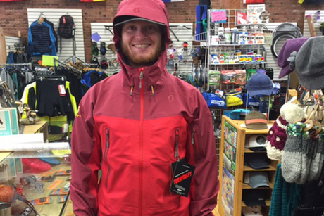 Medium Scott Solute Jacket in Red From Chalet Sports