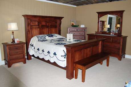 Five Piece Hamilton Collection Bedroom Set From Oak Creek Amish Furniture T