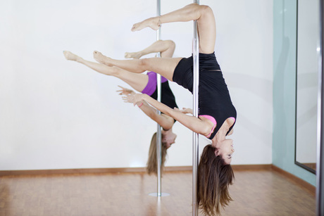 Private Beginner Pole Fitness Class Package From Jez-Mir-Izing