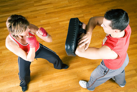 Five Classes of Fitness Kickboxing at Side Kicks Family Karate