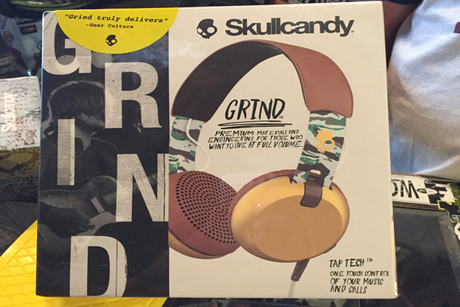 Certificate for Skullcandy Grind On-Ear Headphones