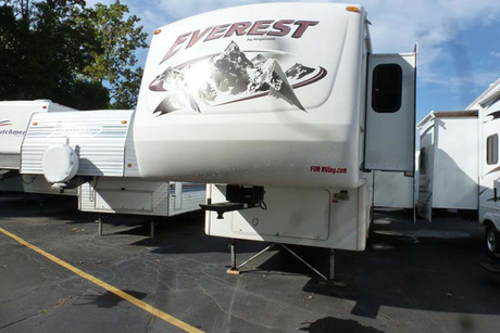 Certificate for a Pre-Owned 2007 Keystone Everest 295T