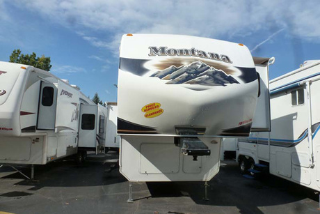 Certificate for a Pre-Owned 2011 Keystone Montana 3150RL
