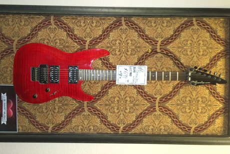 Brawley Electric Guitar With Floyd Rose Tremolo