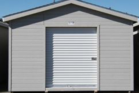 10x20 Shed With Six Foot Roll Up Door