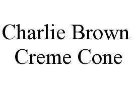 Charlie Brown Creme Cones & Cakes