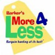 Barker's More 4 Less