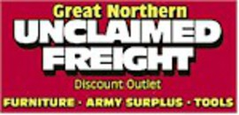 Great Northern Unclaimed Freight